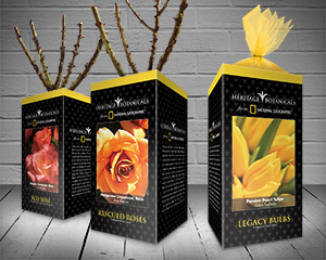 National Geographic Rescued Roses Packaging