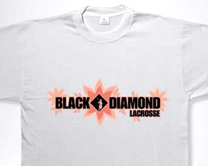 Black Diamond Lacrosse T-Shirt